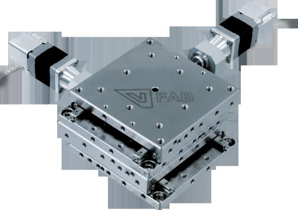 Micropositionnements XY compatible vide