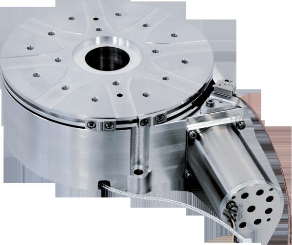 Platine de rotation compatible vide